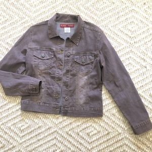 YMI Brown Denim Jacket Size L
